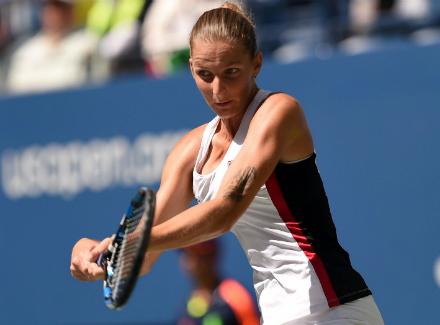 Кербер стала первой полуфиналисткой турнира— USOpen