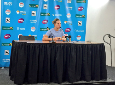 Свитолина сыграет спервой ракеткой мира вчетвертьфинале турнира вБрисбене