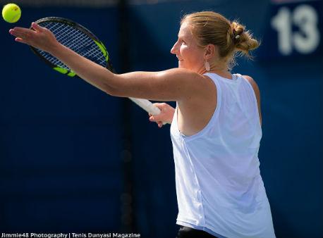 Александра Саснович одолела настарте квалификации теннисного турнира встолице Китая