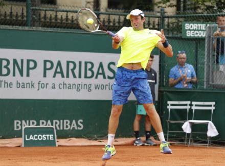 Теннисист Габашвили пробился вфинал квалификации «Ролан Гарроса»
