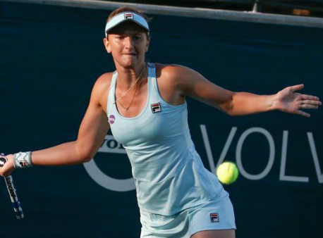 Украинка Козлова впервый раз вкарьере пробилась во 2-ой круг турнира «Большого шлема»