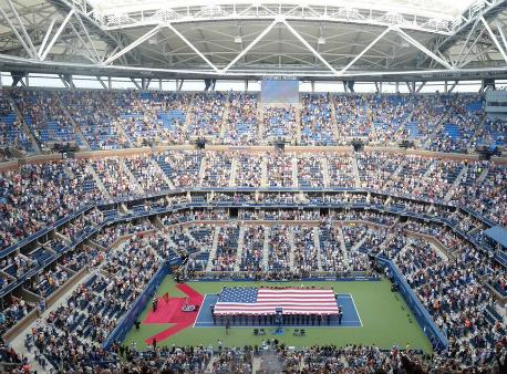 Шарапова выиграла уХалеп впервом кругеUS Open