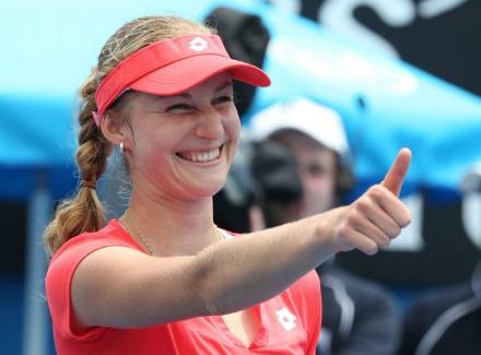 Павлюченкова выиграла турнир вРабате, обыграв вфинале Скьявоне