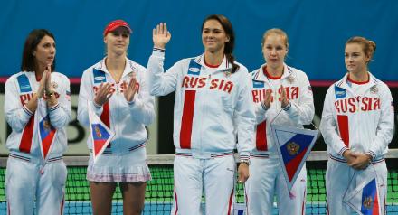 Мертенс иЗаневская сыграют сроссиянками вматче Кубка федерации