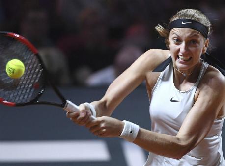 Петра Квитова вышла вполуфинал домашнего J&T Banka Prague Open