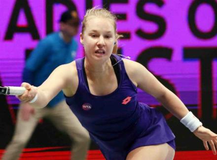 Русская теннисистка Макарова вышла во 2-ой круг турнира вРабате