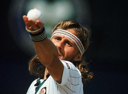 Wimbledon - великолепная семёрка. Бьорн Борг