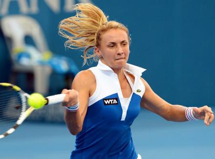 Украинка обыграла россиянку напрестижном теннисном турнире