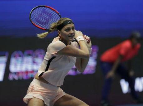 Чешская теннисистка Квитова стала первой финалисткой турнира вПетербурге