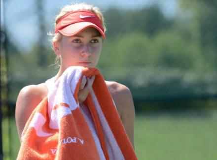 Русская теннисистка Пайгина не смогла выйти вфинал юниорского «Ролан Гаррос»