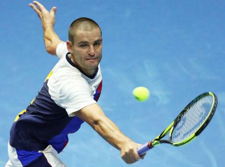 Теннисист Фоньини врешающие моменты матча SPb Open сыграл лучше— Южный