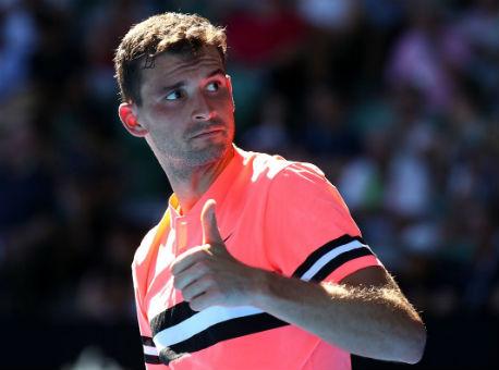 Димитров не без усилий выбил последнего жителя России сAustralian Open