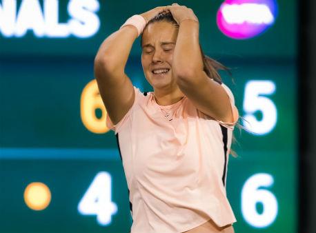Русская теннисистка Дарья Касаткина обыграла американку Винус Уильямс