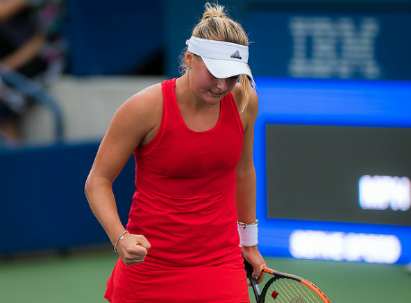 Теннисистка Козлова вышла в ¼ финала турнира WTA