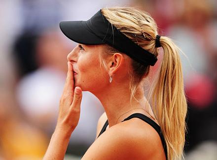 Мария Шарапова в 14-й раз вышла в полуфинал на турнирах