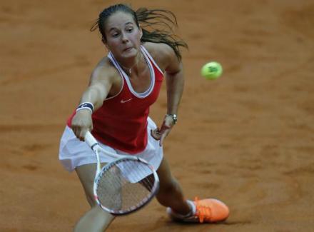 Теннисистка изСамарской области Дарья Касаткина повредила ногу натурнире вРиме