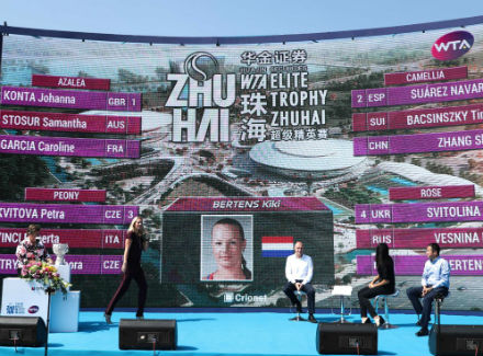 Свитолина пробилась вполуфинал WTA Elite Trophy