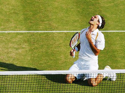 Wimbledon - великолепная семёрка. Роджер Федерер