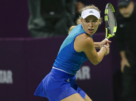 Каролина Плишкова одолела  на турнире Qatar Total Open