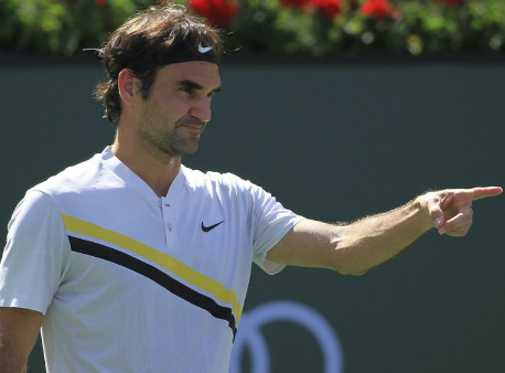 Федерер обыграл Шарди ивышел вчетвертьфинал турнира вИндиан-Уэллсе