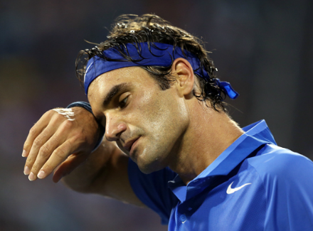 Федерер просто обыграл Пэра впервом круге