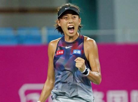 Wuhan Open. Чжан Шуай в трёх сетах нанесла поражение Донне Векич
