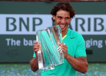Рафаэль Надаль: Я очень счастлив, что смог выиграть титул