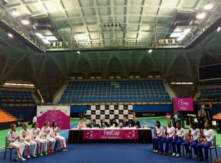 Fed Cup. Россиянки поделили очки вматче сКитайским Тайбэем