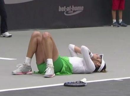Цибулкова сыграет сГолубич вфинале турнира вЛинце