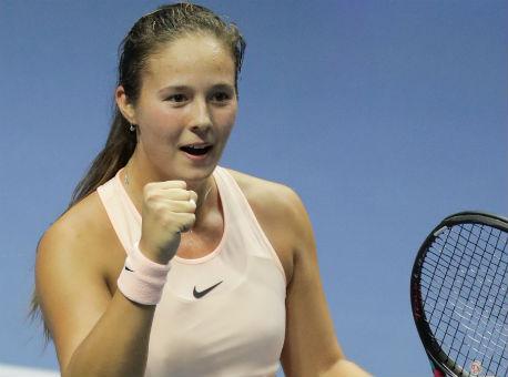 Теннисистка Касаткина вышла вфинал турнира WTA вДубае