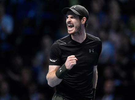 Итоговый турнир ATP. Маррей едва обыграл Раонича истал первым финалистом