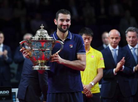 Чилич одержал победу турнир вБазеле