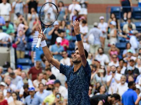 Джокович переиграл Соузу ивышел вчетвертьфиналUS Open