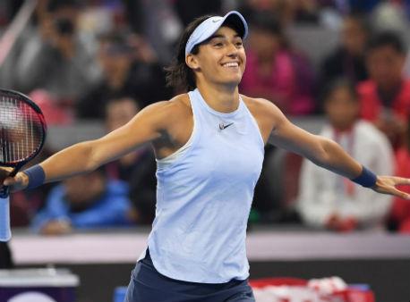 Гарсия одолела Халеп вфинале турнира встолице Китая