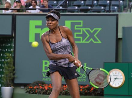 Майами. Винус Уильямс обыграла первую ракетку мира Кербер ивышла вполуфинал