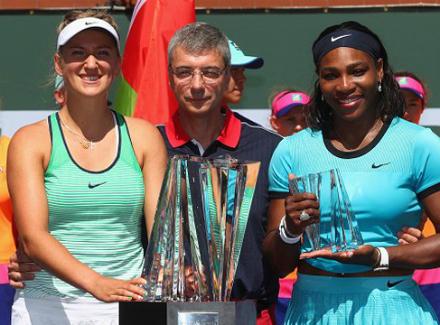 Виктория Азаренко: Серена изменила наш вид спорта