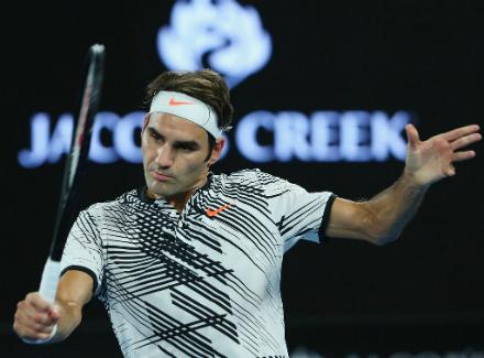 Роджер Федерер стал полуфиналистом Открытого первенства Австралии