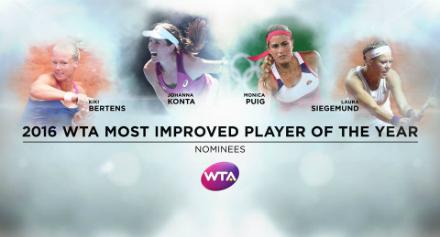 Веснина номинирована напремию WTA «Возвращение года»