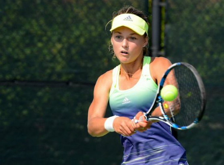 Ястремская вышла вчетвертьфинал напервом всвоей карьере турнире WTA