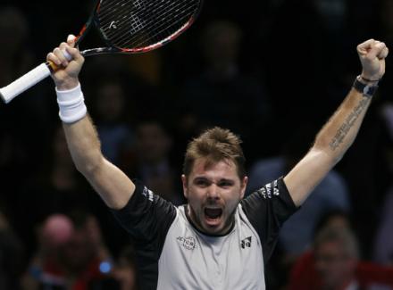 Нисикори проиграл Чиличу, однако вышел вполуфинал итогового турнира ATP встолице Англии