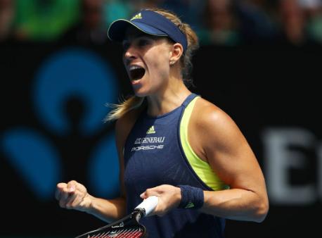 Анжелик Кербер отдала Мэдисон Киз только три гейма вчетвертьфинале Australian Open