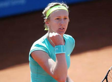 Открытого чемпионата Франции Чешская теннисистка Тереза Шмиткова преодол