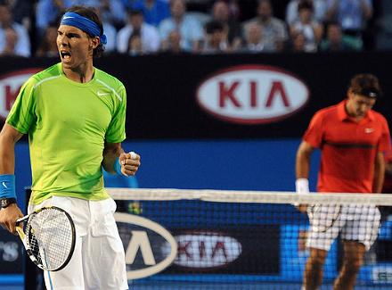 Федерер против Надаля.
