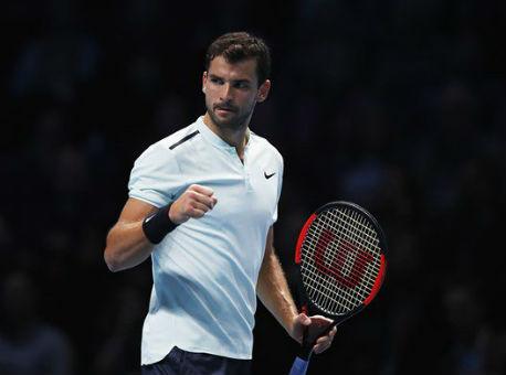 Текстовая онлайн-трансляция финала Итогового чемпионата ATP Димитров— Гоффен