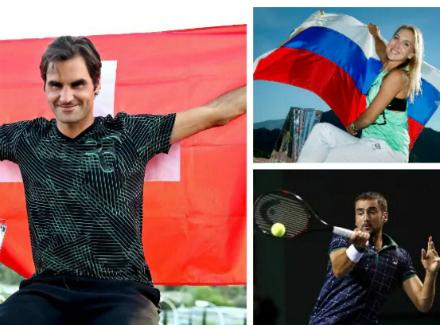 Федерер выбил Надаля в1/8 финала турнира вИндиан-Уэллсе