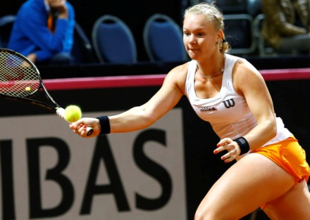 Белорусские теннистки ведут всчете вматче Кубка федерации