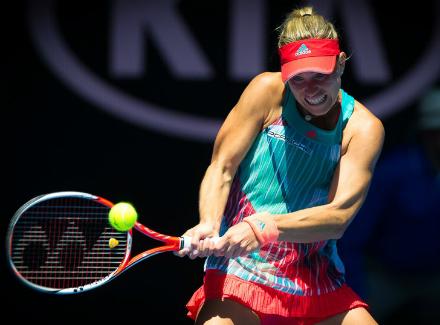 Анжелик Кербер прошла в четвертьфинал Australian Open
