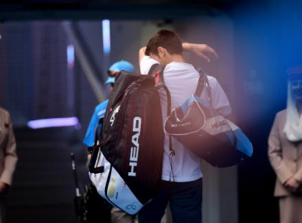 Истомин выбил Джоковича вовтором круге Australian Open