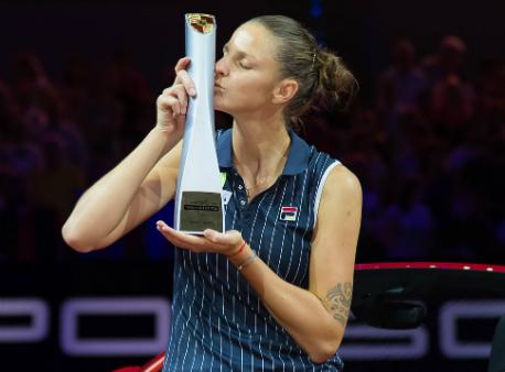 Чешская теннисистка Плишкова стала победительницей турнира WTA вШтутгарте