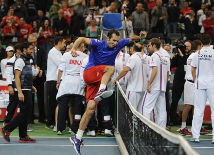 Радек Штепанек: Победы в Кубке Дэвиса - самые значимые достижения в моей карьере
